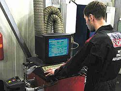 Компьютерный сход-развал и ремонт автомобилей